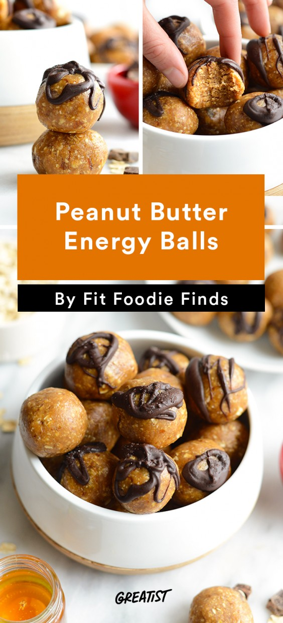 Fit Foodie Finds: Peanut Butter Energy Balls