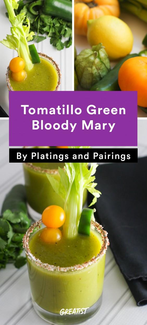Tomatillo Green Bloody Mary Recipe