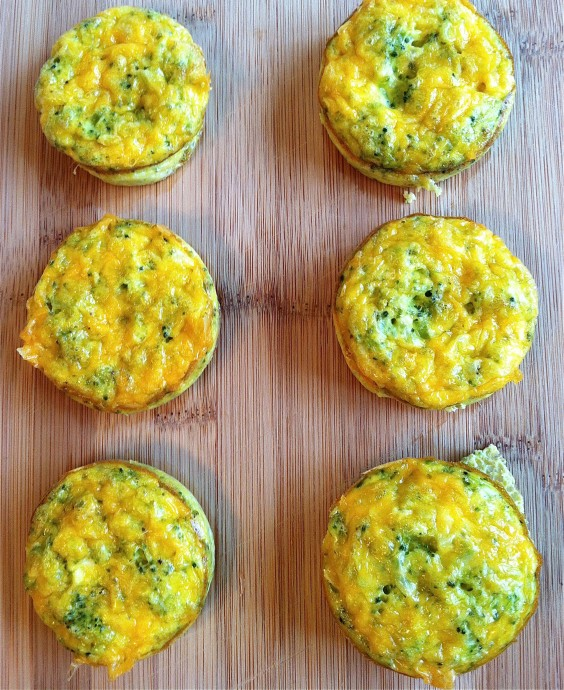 Easy recipes 51 quick and healthy 3 ingredient meals greatist 5 cheddar broccoli egg muffins forumfinder Image collections
