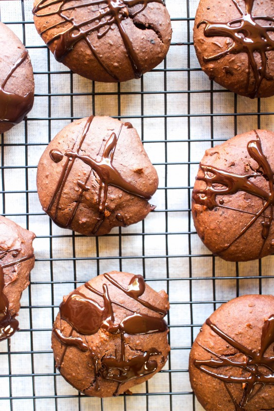 Protein Cookies: Chocolate Black Bean Protein Cookies by Julia and Libby