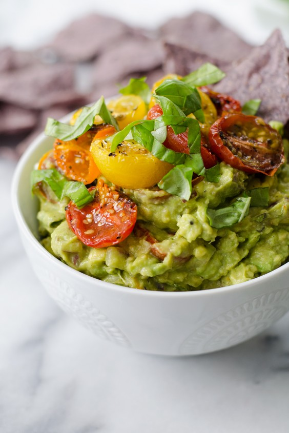 Roasted Tomato Guacamole Recipe