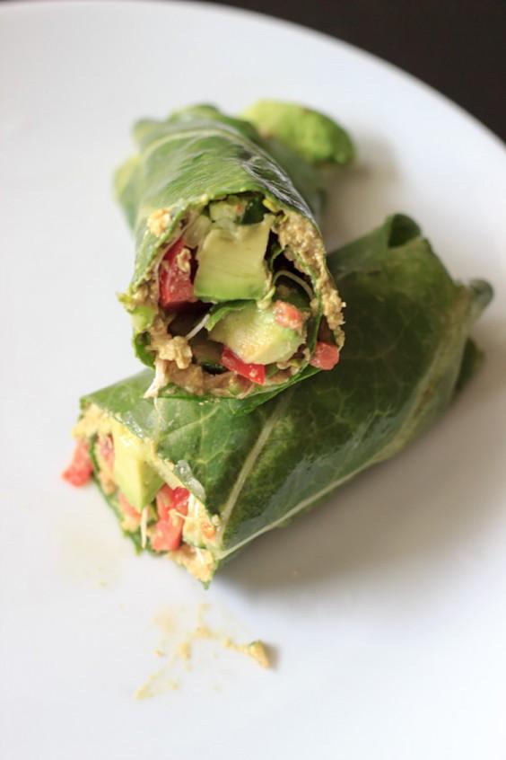 Lunch Ideas: Sunflower Wraps