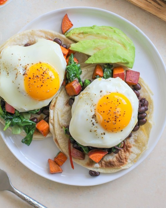 Healthy Breakfast Taco Recipes: The Roasted Root's Superfood Breakfast Tacos