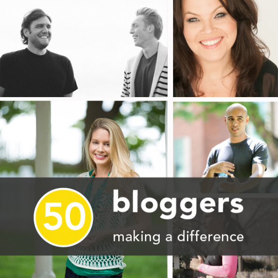 50 Fitness Health, and Happiness Bloggers Making a Difference