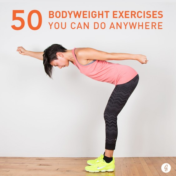 50 Bodyweight Exercises You Can Do Anywhere
