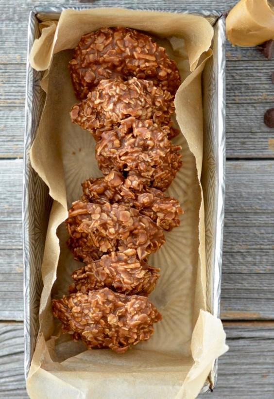 One Pot Meals: No Bake Peanut Butter Cookies