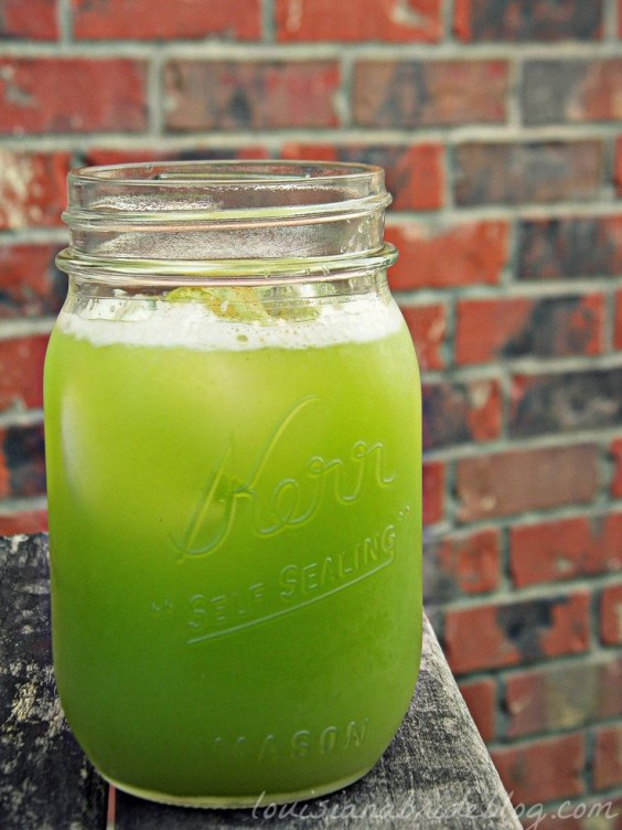 Detox Recipe: Ginger Cucumber Juice