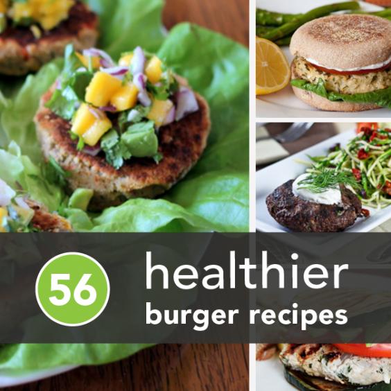 Healthier Burger Recipes