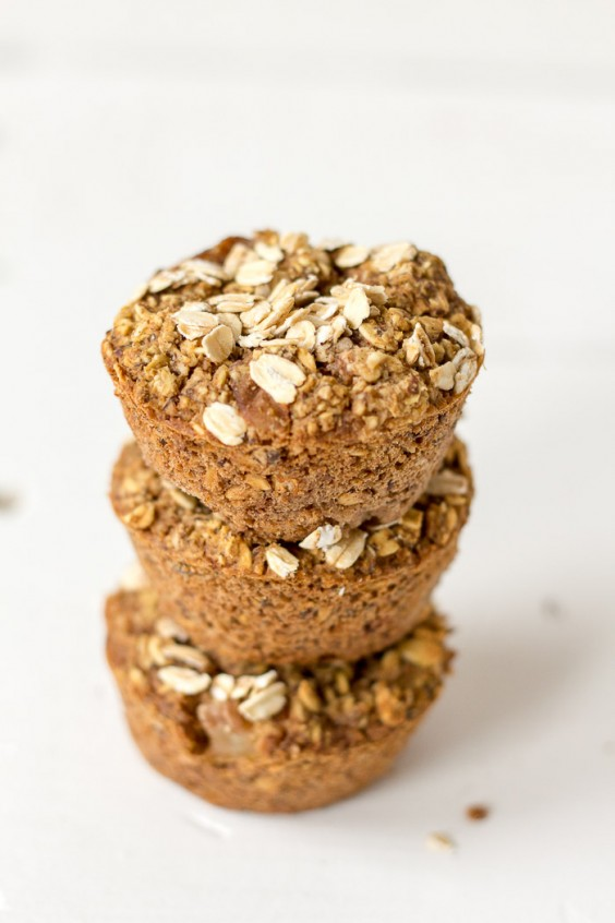 5. Oatmeal Pear Muffins (Vegan and Gluten-Free)