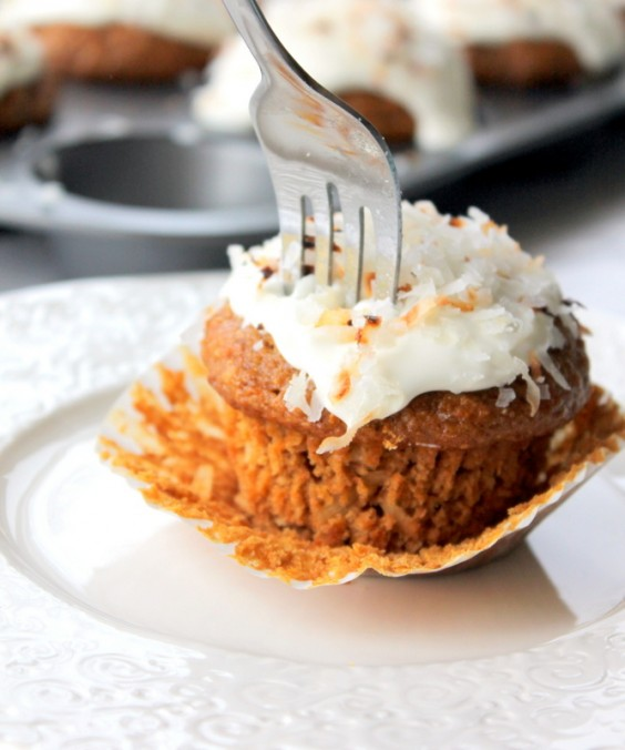 5. Healthy Whole Grain Carrot Coconut Morning Glory Muffins