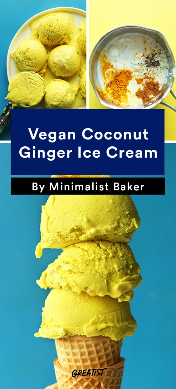 good idea. Especially when it's made with coconut milk, fresh ginger ...