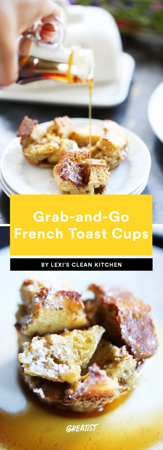 Grab-and-Go French Toast Cups