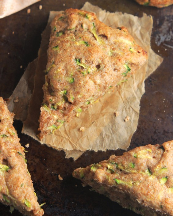 Clean Zucchini Bread Scones