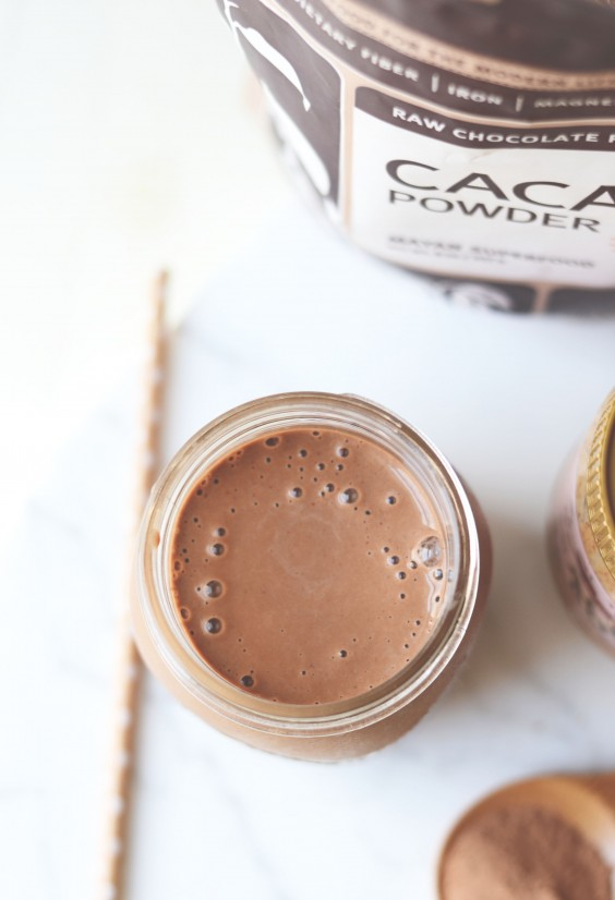 Almond Butter Cup Smoothie