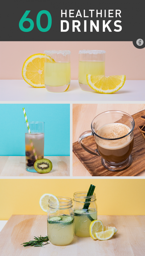 60 Healthier Drinks for Boozing