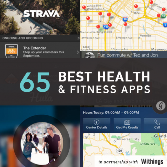 the 65 best health and fitness apps of 2014. Black Bedroom Furniture Sets. Home Design Ideas