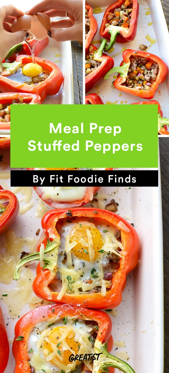 Fit Foodie Finds: Stuffed Peppers