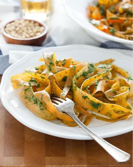 Healthy alternative to white pasta recipes