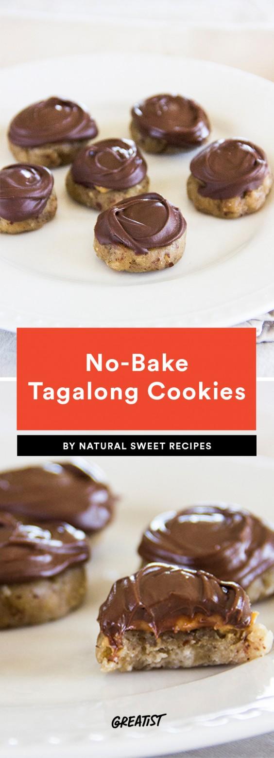 No-Bake Tagalong Cookies