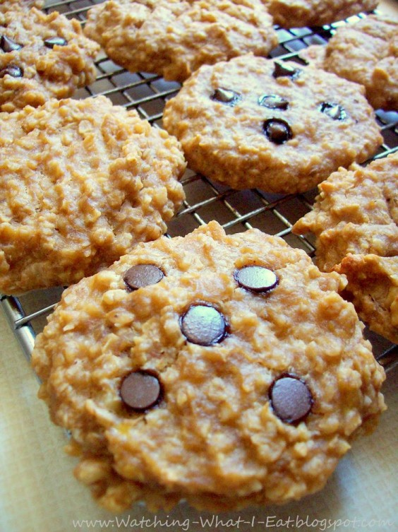 Top Pinned Breakfasts 2016: Peanut Butter Banana Breakfast Cookies
