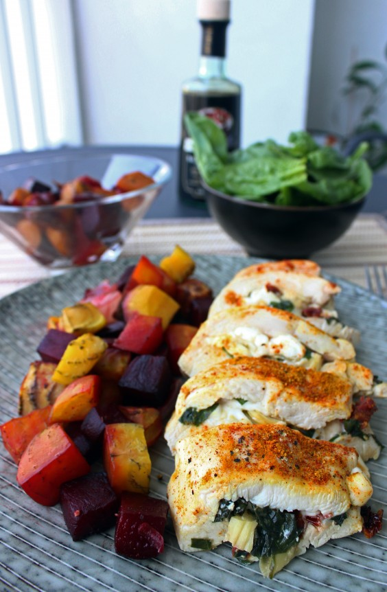 Low-Carb Recipes: Stuffed Chicken Breast