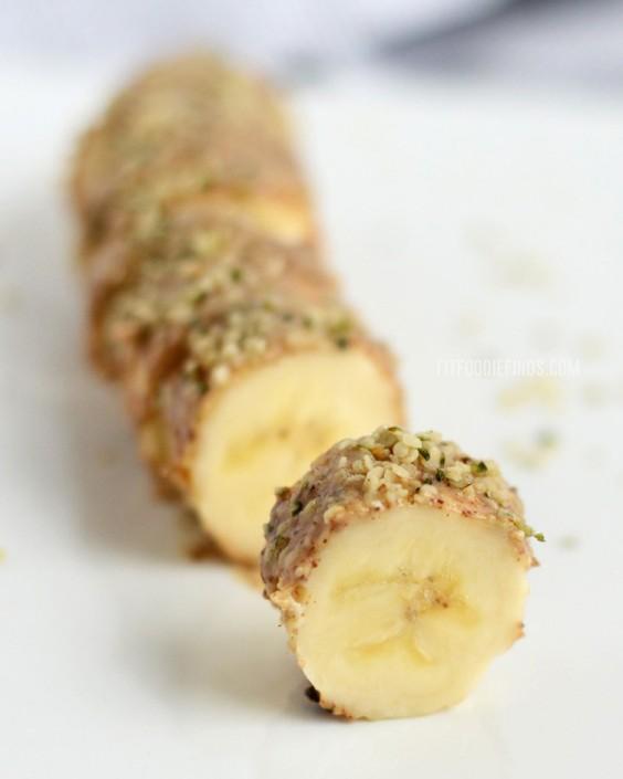 Almond Butter Hemp Seed Banana Sushi