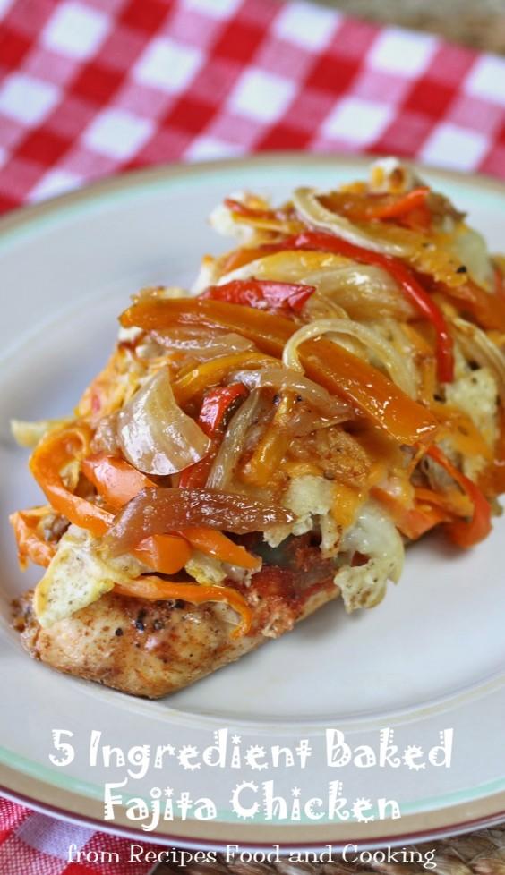 5-Ingredient Dinner: Fajita Chicken