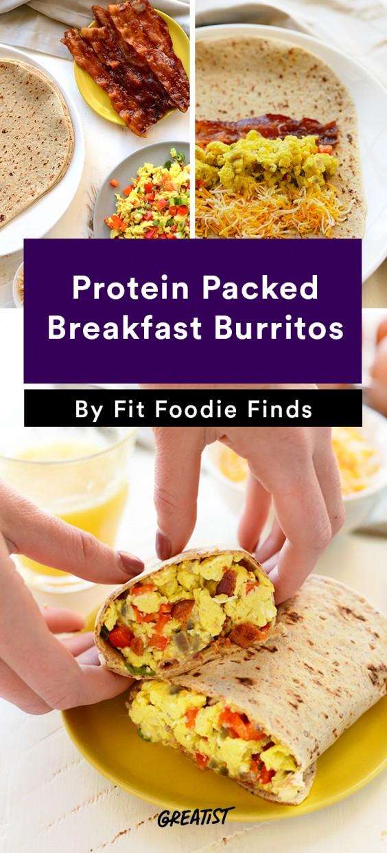 Fit Foodie Finds: Breakfast Burritos