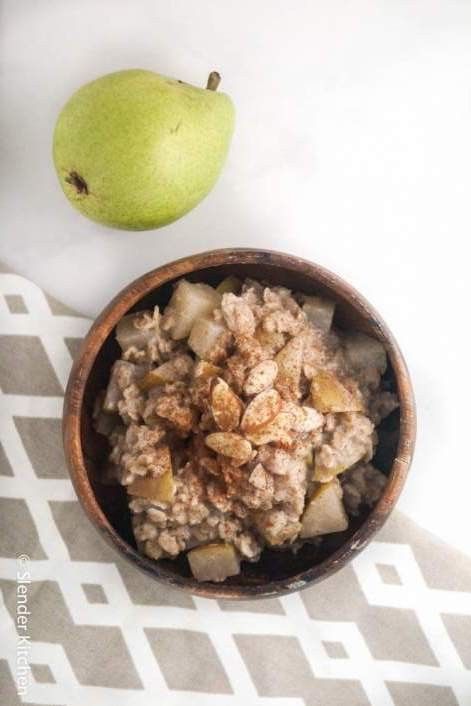 Cinnamon Pear Oatmeal