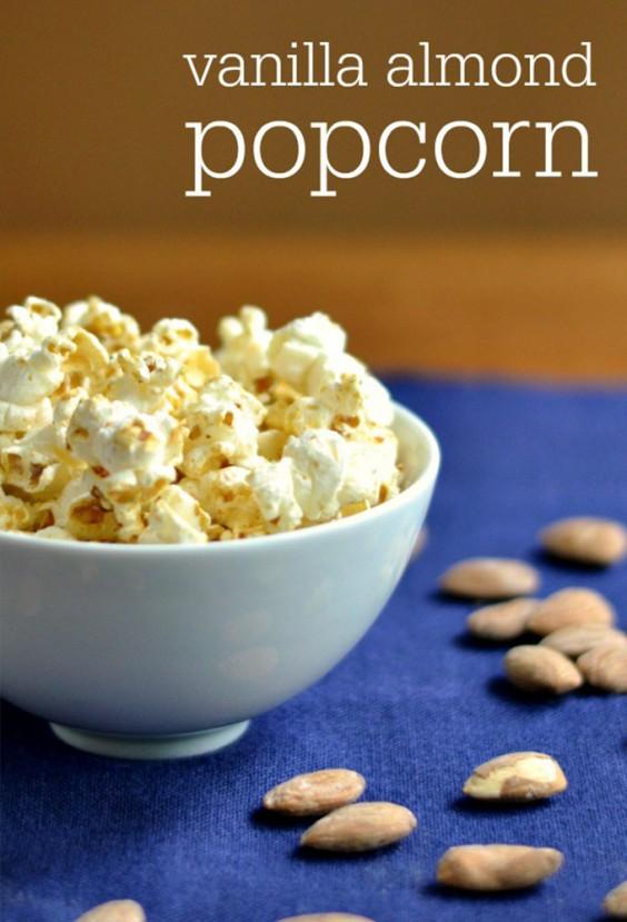 8. Vanilla Almond Popcorn