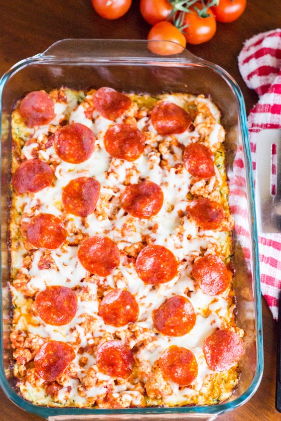 Low-Carb Recipes: Zucchini Pizza Casserole