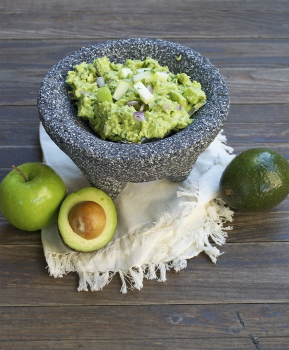 Spicy Apple Guacamole Recipe