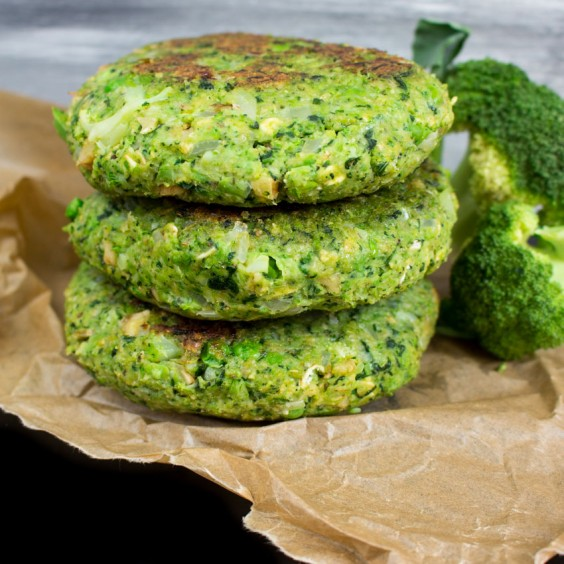Greens Recipe: Green Monster Veggie Burger