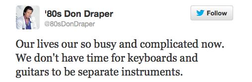 80s Don Draper