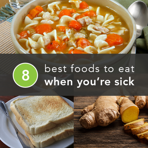 Food probably isn't the first thing on your mind when you're battling the flu or a stomach bug. But you have to fuel the tank eventually, and what you choose to do so matters: Some foods and.