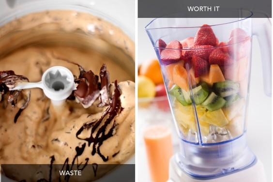 Ice Cream Maker vs Blender