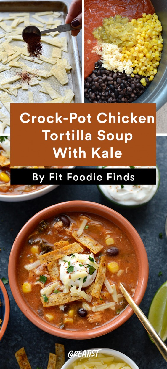 Fit Foodie Finds: Tortilla Soup With Kale
