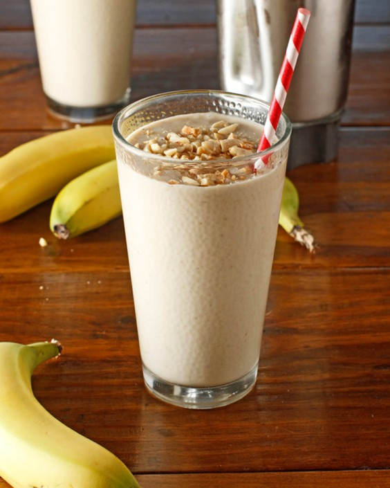 Top Pinned Breakfasts 2016: Peanut Butter Banana Smoothie