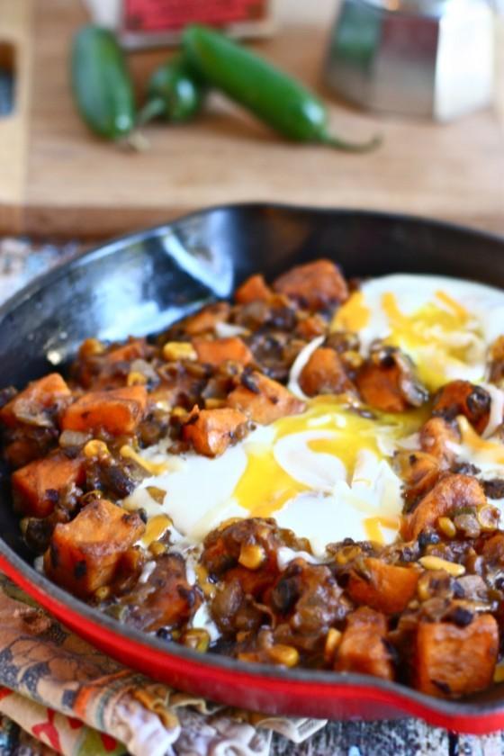 One Pot Meals: Southwestern Sweet Potato Skillet
