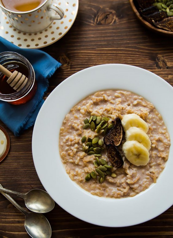 Healthy Breakfast Recipes: Breakfast Rice Pudding