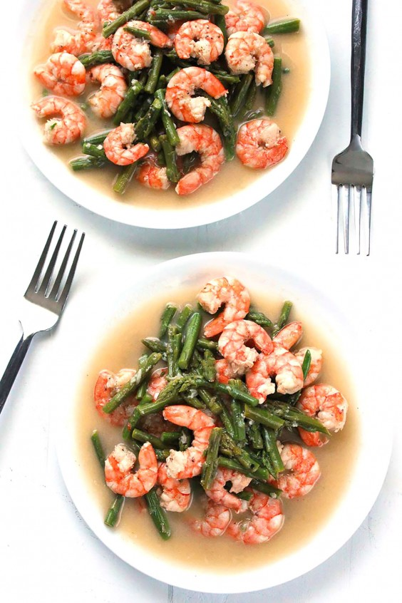 Easy Elegant Dinner Party Menu Ideas Part - 32: Whole30 Dinner Recipes: Shrimp And Asparagus Stir-Fry