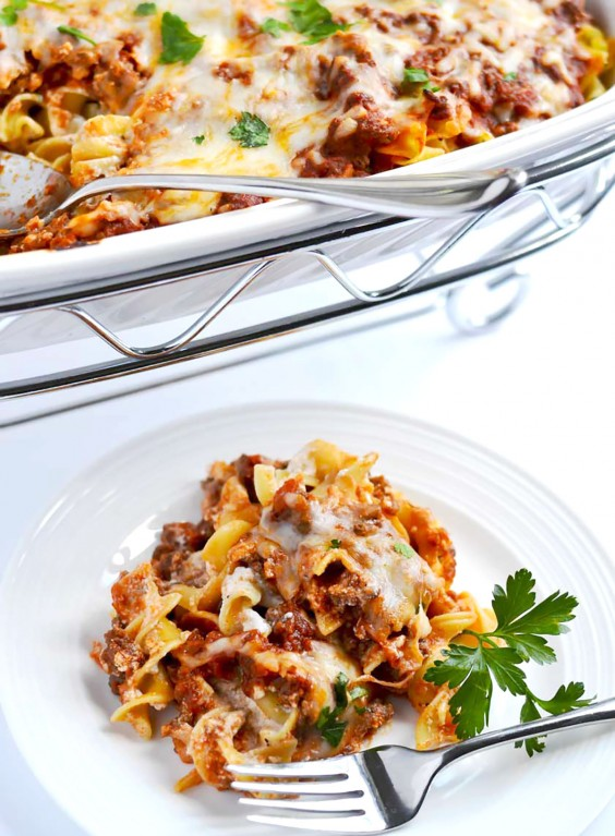 Ground Beef Recipes: Lazy Girl Lasagna