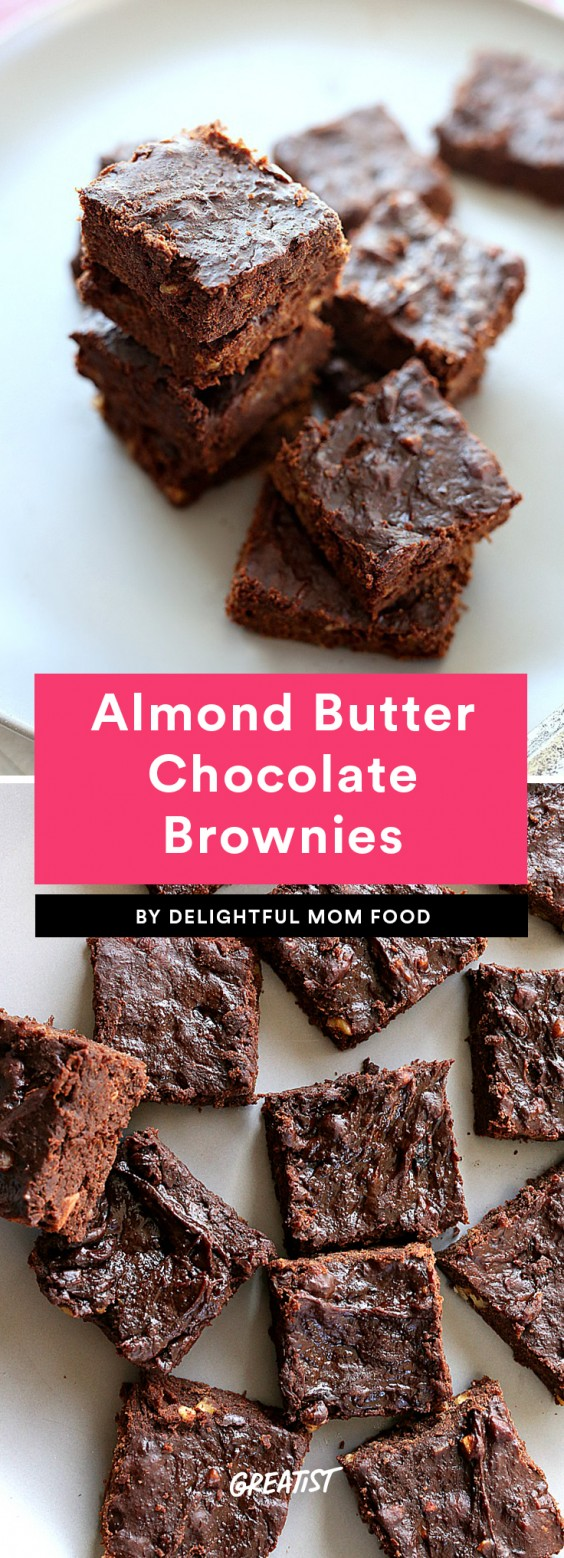Almond Butter Chocolate Brownies