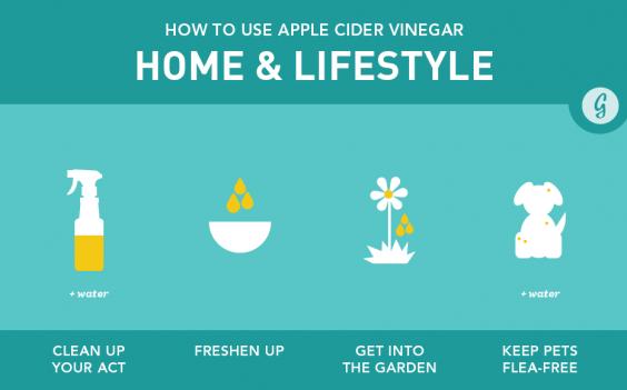 Apple Cider Vinegar Home & Lifestyle Uses