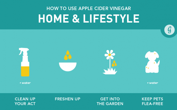 Apple Cider Vinegar Home & Lifestyle Uses