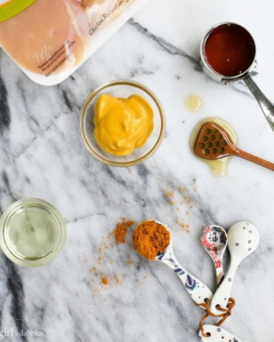 Marinade: 5-Ingredient Honey Mustard Chicken Breast Marinade