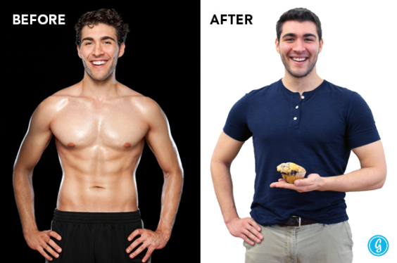 Greatist Founder and CEO Derek Flanzraich's Before and After Photo
