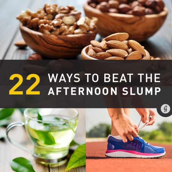 22 Ways to Beat the Afternoon Slump