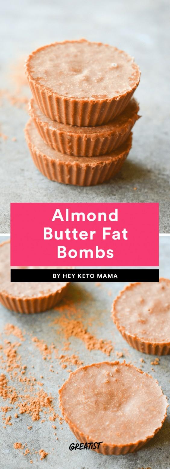 Almond Butter Fat Bombs