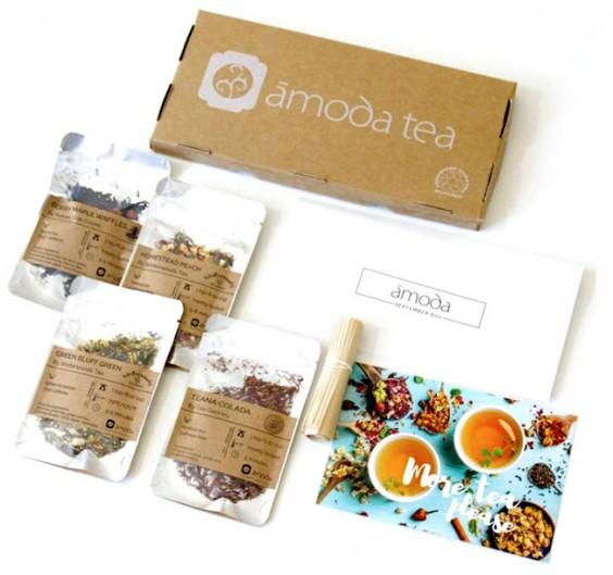 Subscription Box Healthy Snacks: Amoda